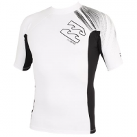 Billabong Boys Youth Pxf S / S Rashguard - White