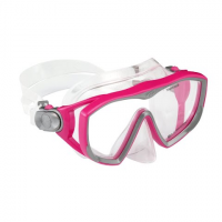 Us Divers Adult Women's Diva Lx Snorkel And Mask Combo - Raspberry