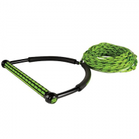 Liquid Force Straightline 65ft Eva Tr9 Braid Rope With Static - Green