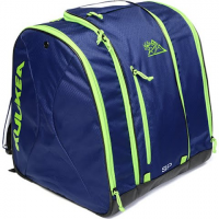 Kulkea Speed Pack Ski Boot Bag - Smoke Blue / Green