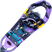 Atlas Snowshoes Women's Elektra Treeline Snowhoes - Black / Purple