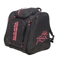 Kulkea Powder Trekker Ski Boot Bag - Black / White / Pink
