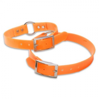 Dokken Rubberized Nylon Hi - Viz Collar ( Small )