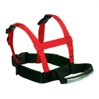 Lucky Bums Youth Grip ` N Guide Sports Harness - Red / Black