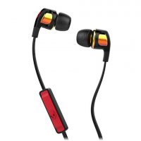Skullcandy Smokin Buds 2 Earbud With Mic1 - Spaced Out / Orange