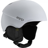 Red Mens Hifi Helmet Featuring Mips - White
