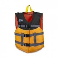 Mti Adventurewear Youth Livery Type Iii Pfd - Mango / Black