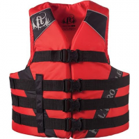 Full Throttle Dual Sized Pfd Vest - Red