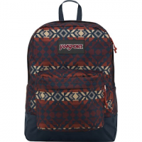 Jansport Black Label Superbreak Daypack - Burnt Henna Abstract Angles