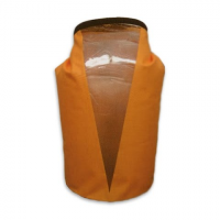 World Famous 25l Tpu Dry Bag With Window - Orange