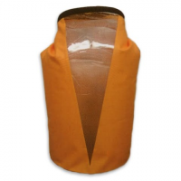 World Famous 35l Tpu Dry Bag With Window - Orange