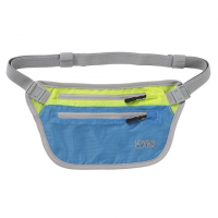 Lewis N . Clark Electrolight Waist Stash - Bright Blue / Neon Lemon