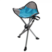 Travel Chair Slacker Tripod Stool - Light Blue