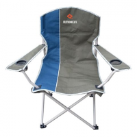 High Peak Usa Oversized Quad Chair - Blue / Gray