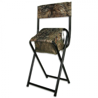 Hideaway Poston Pedestal Chair - Mossy Oak Duck Blind