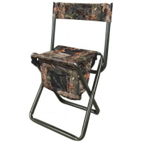 The Allen Co Camo Folding Stool With Back Rest - Camo