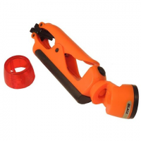 Black Fire Emergency Clamplight Flashlight