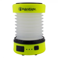 Hybrid Light The Puc Expandable Lantern / Charger - Hi Vis Yellow