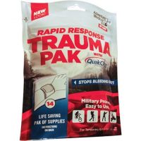 Adventure Medical Rapid Response Trauma Pack With Quikclot
