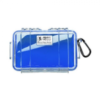 Pelican Products 1050 Micro Case Dry Box - Blue / Clear