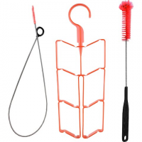 High Sierra 3 Piece Cleaning Kit - Red / Black