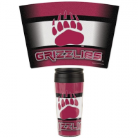 Wincraft University Of Montana Griz 16oz Contour Travel Mug