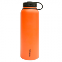 Lifeline Double - Wall Vacuum Insulated 40oz Bottle - Solar Orange