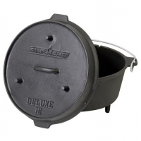 Camp Chef 12 `` Cast Iron Deluxe Dutch Oven