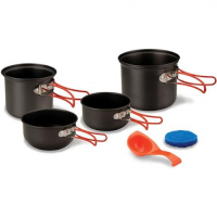 Stansport 2 - Person Hard Anodized Cook Set