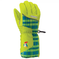 Swany Youth Zippy Print Glove - Lime