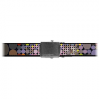 Croakies Artisan 1 Shapes Military Buckle Belt - Dots Multi