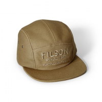 Filson Cotton Canvas 5 - Panel Cap - Rugged Tan
