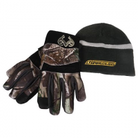 Iron Clad Cold Condition Insulated Soft Shell Gloves With Beanie - Realtree Ap