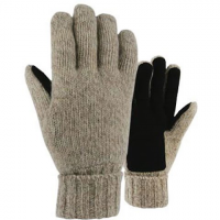 Grand Sierra Mens Ragg Wool Glove - Natural
