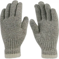 Grand Sierra Men's Ragg Wool Unlined Gloves - Natural