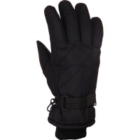 Grand Sierra Men's Taslon Ski Glove - Black