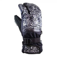 Disciple Mens Claw Gloves - Black / Silver