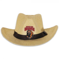 Littlearth Mens U Of M Grizzlies Natural Cowboy Hat - U Of M Grizzlies
