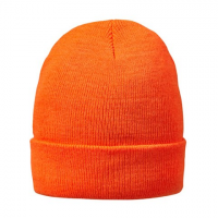 Hot Shot Mens 40g Acrylic Knit Beanie - Blaze