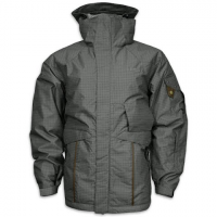 Precision Mountain Mens Helix Brigade Jacket - Char / Lt Grey Check