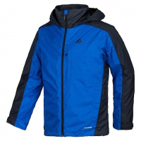 Adidas Outdoor Mens Hiking 3 - In - 1 Cps Down Wandertag Jacket - Blue Beauty