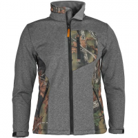 Trail Crest Men's Xrg Softshell Jacket - Grey / Camo
