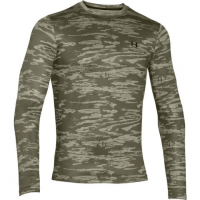 Under Armour Mountain Men's Coldgear Evo Printed Crew - Greenhead