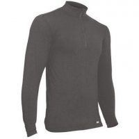 Polarmax Mens 4 Way Stretch Zip Top - Titanium