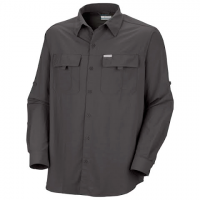 Image of Columbia Mens Silver Ridge Long Sleeve Shirt - Blade