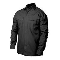 Blackhawk Performance Cotton Tactical L / S Shirt - Black