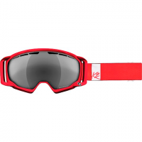 K2 Women's Captura Pro Goggle - Ruby Red / Silver Smoke