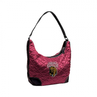 Littlearth University Of Montana Grizzlies Quilted Hobo Purse - U Of M Grizzlies