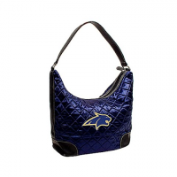 Littlearth Montana State University Bobcats Quilted Hobo Purse - Msu Bobcats