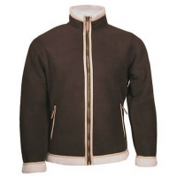 Ice Wear Women's Mocca Fleece Jacket - Dark Brown